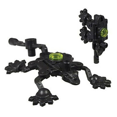 Transformers Takara Arms Micron Convert from Robot Mecha to Weapons Black Gobu