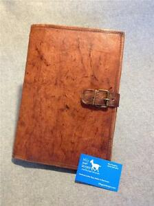 Handmade-Goat-Leather-A4-Book-Cover-BCDA4-iPad-Cover-Notebook-Folder-Compendium