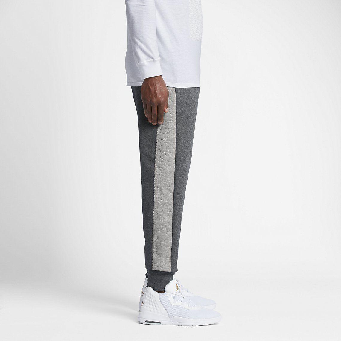 3e5353004215 Nike Men s Size XS Air Jordan 3 Fleece Pant 819127 Grey for sale ...