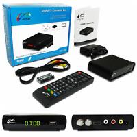 Hd 1080p Digital Tv Television Converter Box Digital To Analog Recording Remote