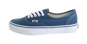 Details zu Vans Men Shoes Authentic Navy Blue Canvas Lace Up Classic Sneakers Size 16