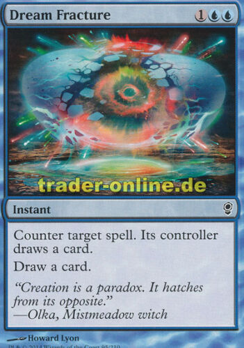 Conspiracy Magic Zerbrochener Traum 4x Dream Fracture