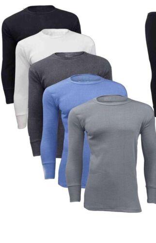 Men/'s Thermal Warm Winter Underwear Full Sleeve Outdoor Base Layer Shirt Top