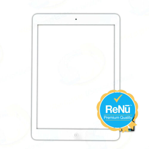 iPad Air 5th Gen Touch Screen Digitizer Pre-Assembled Replacement Glass White