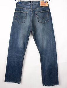 Levi's Strauss & Co Hommes 501 Jeans Jambe Droite Taille W36 L34 BCZ13