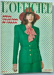 Paris-s-s-197s-L-039-Officiel-70s-vintage-fashion-YSL-Ungaro-Courreges-Lanvin-Dior