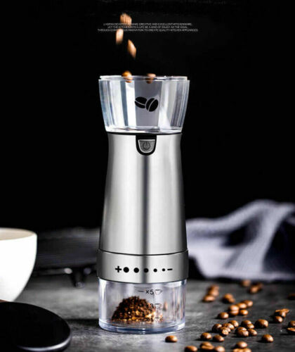 Macinacaffè USB Portatile Ceramica Smeragliatrice Caffè Spessore Opzionale