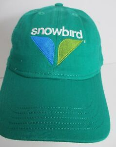cd0d4b087 Details about SnowBird Kids Ski Hat Cap Utah USA Embroidery size 4>6 aprox  Unisex New #grn