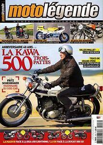 Motolegende-N-206-De-2009-Perfecto-Estado-La-Kawa-500-3-Patas