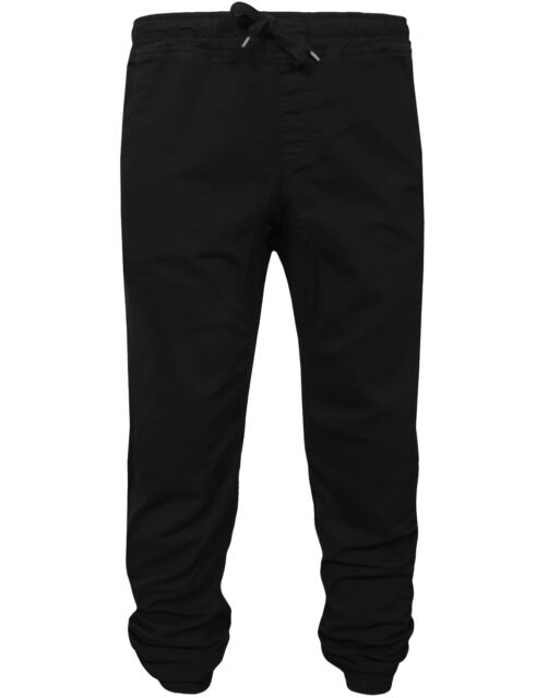 NE PEOPLE Mens Basic Premium Comfort Plain/Camo Twill Jogger Chino Pants[NEMP03]
