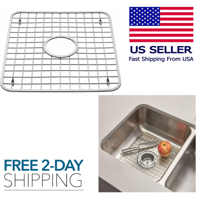 Interdesign Stari Kitchen Sink Protector Mat Clear X Large