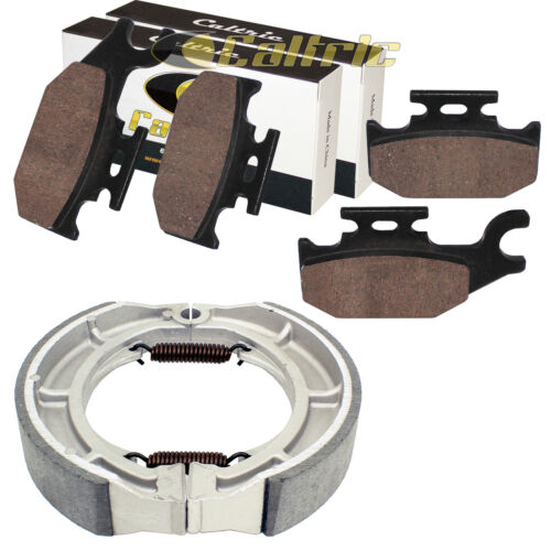 for Suzuki LTA400F LT-A400F King Quad 08-16 Front Brake Pads /& Rear Brake Shoes