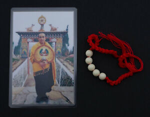 Bracelet-Protector-Kruba-Boonchum-Blessed-Monk-Thai-Sacre-Talisman-Luck-1954