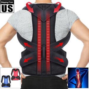 Back-Posture-Correction-Shoulder-Corrector-Support-Brace-Belt-Therapy-Men-Women