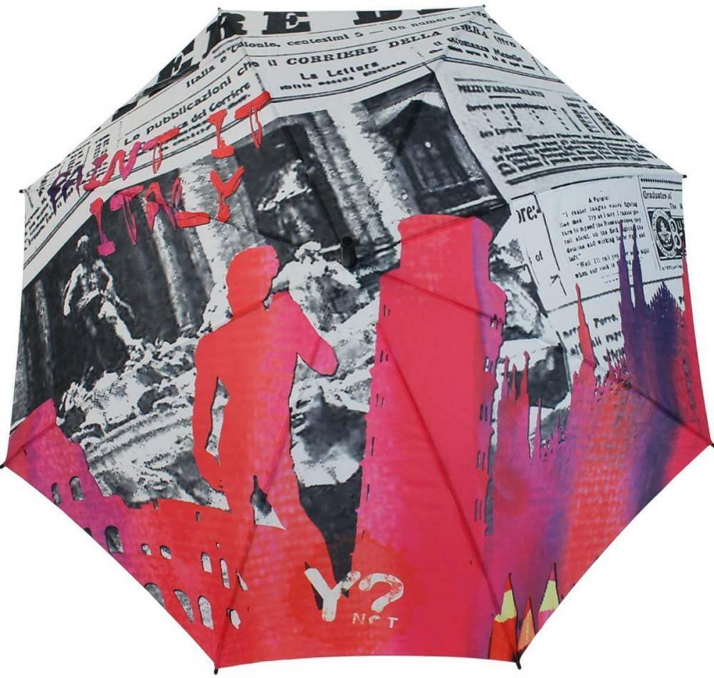 ? no y largo horizonte paraguas, Roma