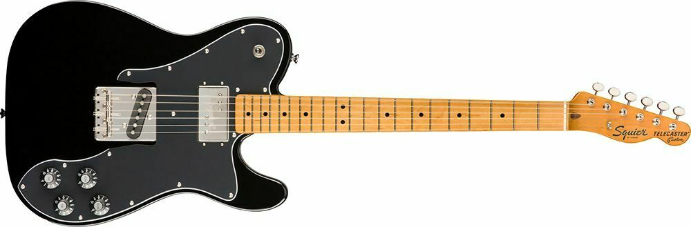 This Squier Telecaster electric guitar is for sale - Squier Classic Vibe '70s Telecaster Custom Electric Guitar - Black