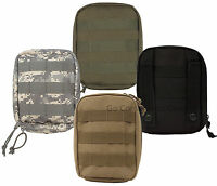 Molle Tactical Trauma & First Aid Kit Pouch Black/coyote/acu/olive - Pouch Only