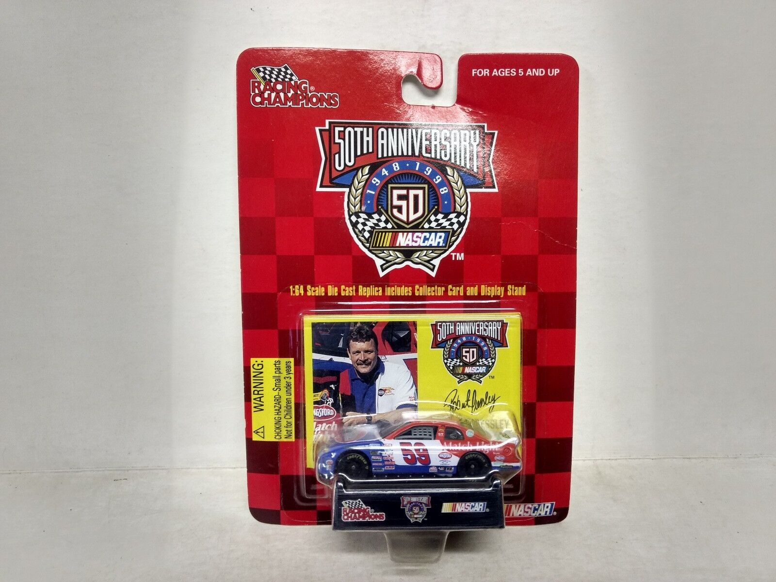 Nascar 50th Anniversario Robert Pressley 1 64 Scala Diecast mb26