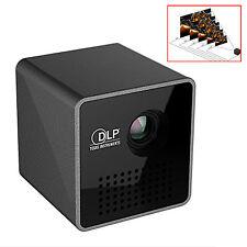 Dlp Portátil Wiff Micro Inteligente Haz Mini Pico Láser Proyector - Negro