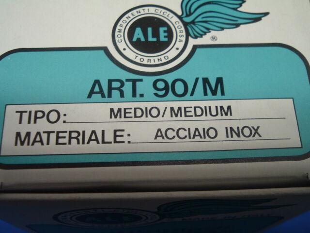 ALE Art.90//M INOX Stainless Steel Medium Road NOS MTB Toe Clips NEW NIB