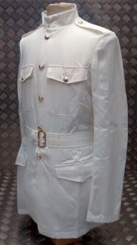 Genuine British Army No3 White Dress Jacket With Belt All Sizes BRAND NEW