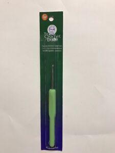 CROCHET-DUDE-ERGONOMIC-Crochet-Hook-hooks-needle-E-3-5-mm-New-GREEN-color-USA