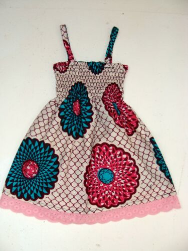 colour choice available African print Ankara Baby dress