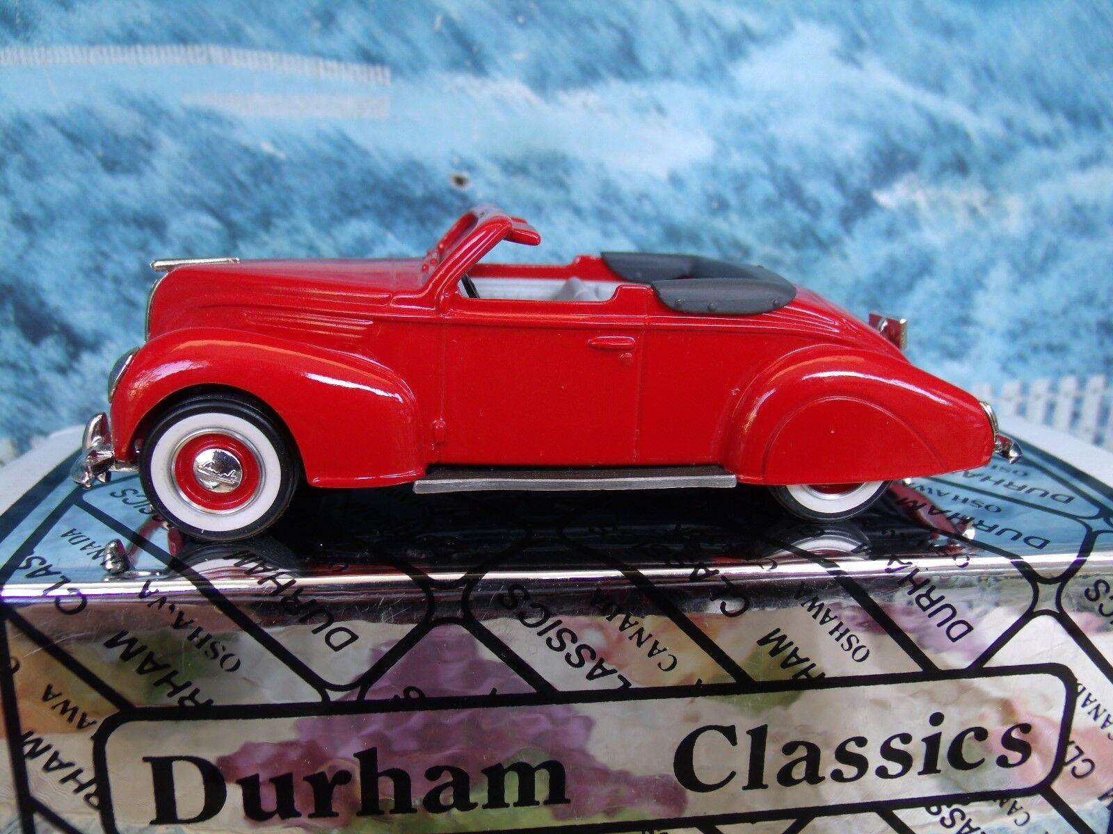 1/43  Durham classics Lincoln zephyr 1938
