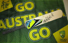 Adam Gilchrist signed Blue Puma mini cricket bat + COA & Photo proof of signing