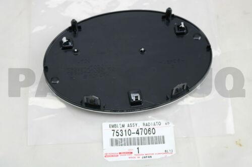 7531047060 Genuine Toyota EMBLEM ASSY 75310-47060