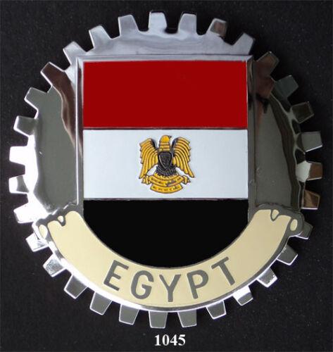 EGYPT FLAG CAR GRILLE EMBLEM BADGES