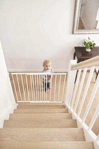 Blanc Gratuit Livraison Le Jour Suivant BabyDan Multidan Extending Métal Porte De Sécurité