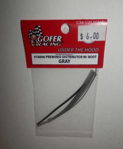 Gofer Racing 1:24//25 Prewired Distributor with Boot Gray #16006 NIP