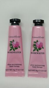 Crabtree-amp-Evelyn-Lot-of-2-Rosewater-Hand-Therapy-35-oz-each