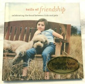 Hallmark-Gift-Book-TAILS-of-FRIENDSHIP-Celebrating-Bond-Between-Kids-and-Pets