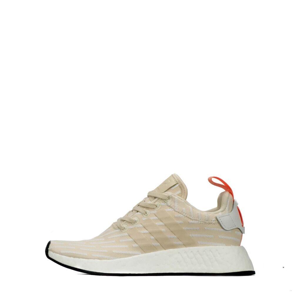 Adidas Originals NMD R2 rouleau en Tricot Chaussures femmes beige-