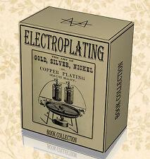 65 Rare Electroplating Books on DVD - Zinc Nickel Silver Metal Jewellery Kit B3