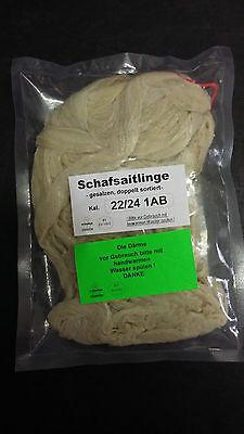Schafsdarm,schafsaitlinge,saitling Kal. 22/24 1ab Dopp.sort.gesalzen Ca.90 Meter Harmonische Farben