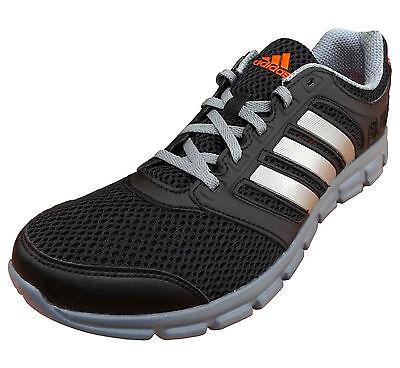 adidas Men's Performance Breeze 101 Lightweight Running Trainers Black UK 8