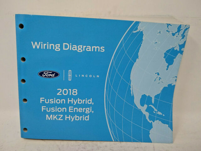 Oem 2018 Ford Fusion Hybrid  Fusion Energi  Mkz Hybrid