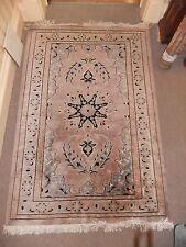 """MOQUETTE Tappeto Oriental LILLA 76x50 """" 193x130cm bello e pulito Thick Tessitura turco.8"""