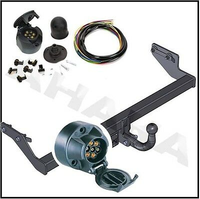 MERCEDES ML M-CLASS 2005-2011 W164 Swan Neck Tow Bar with Electric Kit 7Pin