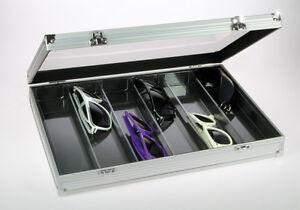 SEGURO-Vitrina-de-coleccion-alu-5374-altura-65mm-Z-B-para-reloj-o-gafas-de-sol