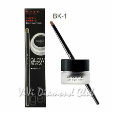 Kanebo KATE Lasting Gel EyeLiner ***w/Brush*** BK-1 GLOW BLACK New Packaging