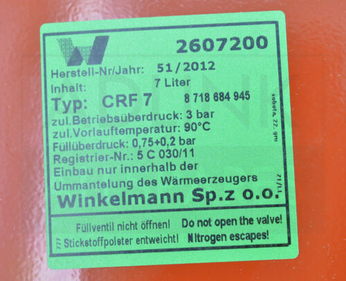 Worcester Greenstar 533 535 /& 533 535 ERP Compact Expansion navire 87186849450