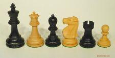 "DELUXE FISCHER vs. SPASSKY CHESS SET, REYKJAVIK 1972, K=3.75"" (801)"