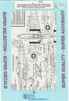 Super Scale Decals 1:48 P-51d Mustang Aces 352nd & 359th Fighter Group 48-536