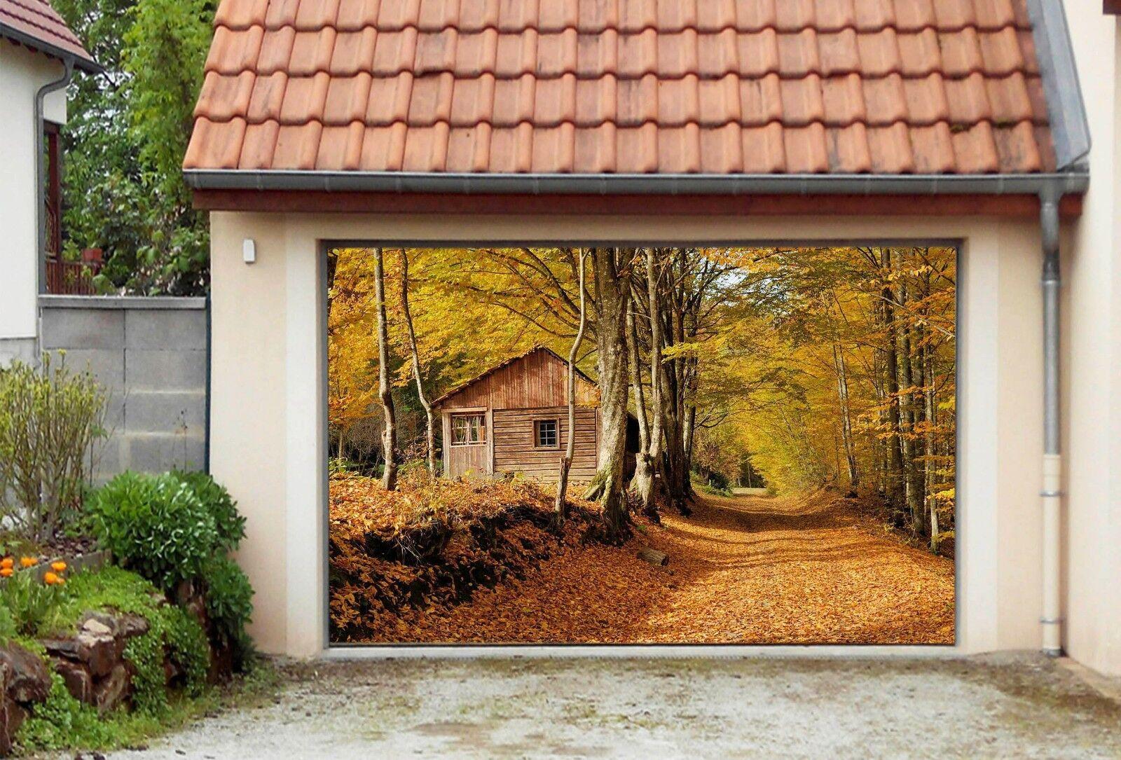 3D Golden Tree 86 Garage Door Murals Wall Print Decal Wall AJ WALLPAPER UK Carly