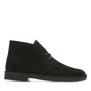 Dettagli su Clarks scarpa uomo polacchino art. Desert Boot col. brown (marrone)