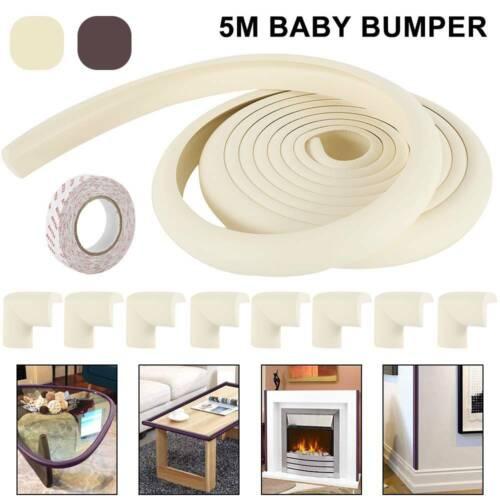 Kantenschutz Baby Eckenschutz SET Tisch Eckschutz Schaumstoff Leiste Sicherung